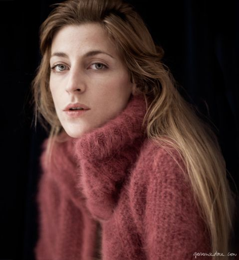 Pink oversized sweater / Garance Doré