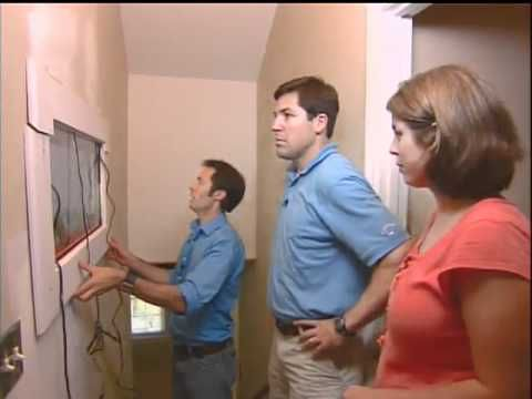 ▶ In-wall Fish Tank - Will's Room Makeover (DIY to the Rescue) - YouTube