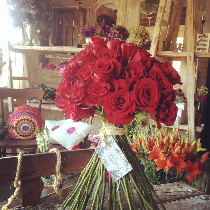 Red Bouquete!