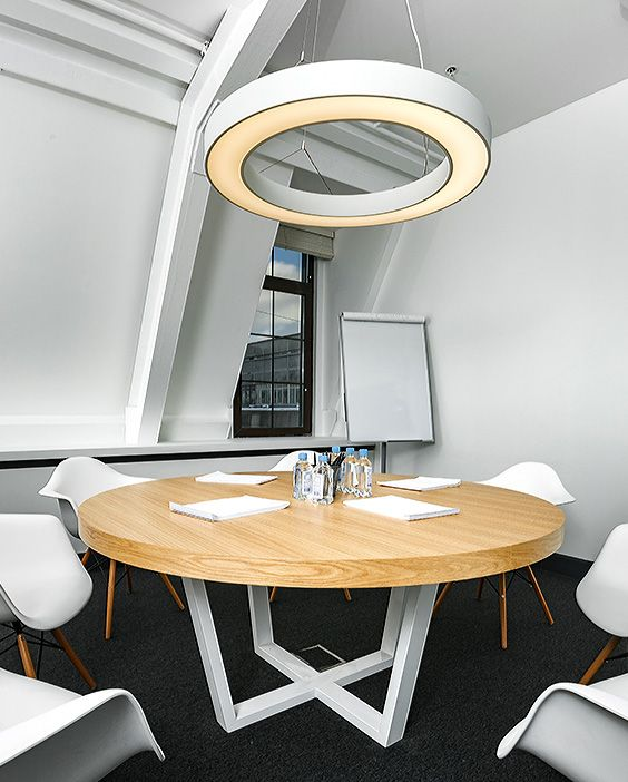 Best 25 Meeting room tables ideas on Pinterest Meeting  : ba6475cf7a5c700ea7dc7a17fffe54f4 round table office round meeting table from www.pinterest.com size 564 x 702 jpeg 63kB