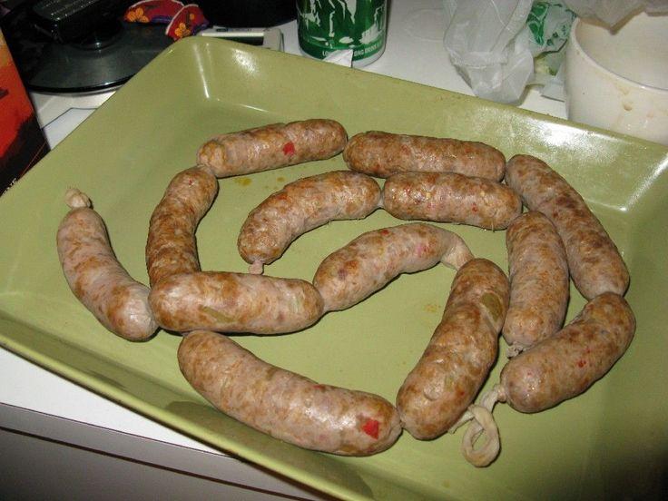 Chorizo, itsetehtynä