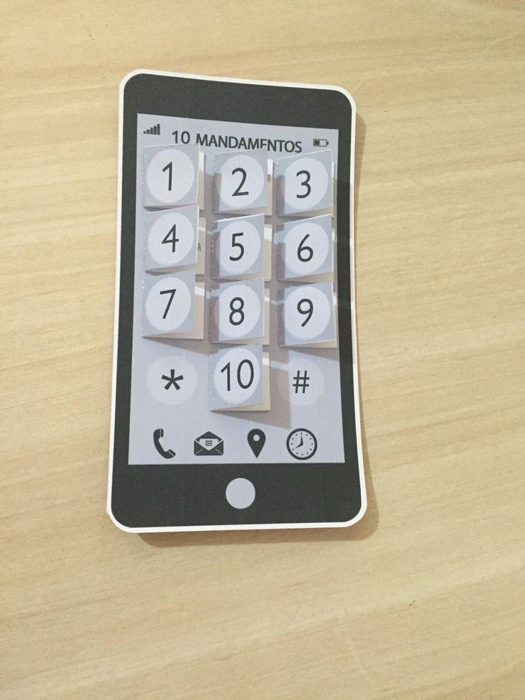 10 mandamentos - celular                                                                                                                                                                                 Más