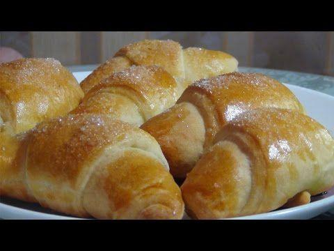 Супер вкусные рогалики с клюквой - YouTube