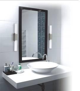 Lustro- niezbędnik w każdym domu. Dziennie przeglądamy się w naszym lustrze ok. 30 razy, chcemy wyglądać dobrze. Nasz pomysł na oświetlenie lustra to lampy łazienkowe AQUATIC, które fantastycznie rozpraszają światło po całej łazience. Zapraszmay do naszego skelepu http://www.espotlight.pl/Produkty,184/Aquatic