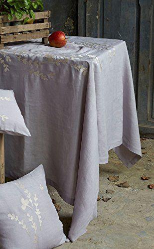 Sylvie Thiriez - Dans le vent - Tischdecke Mitteldecke 100 x 100 cm 100% Leinen - Farbe grau SYLVIE THIRIEZ http://www.amazon.de/dp/B010GN9X5S/ref=cm_sw_r_pi_dp_kgJJvb0D6JNYN