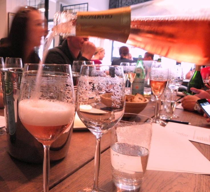 Simon Selosse Brut Rosé @Restaurant CLOU