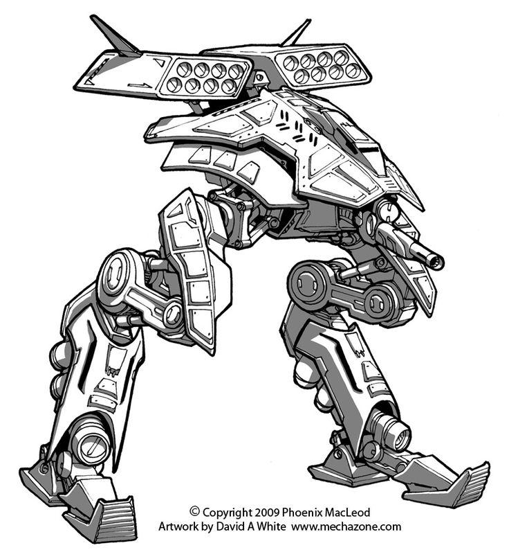 Character Design Freelance : Freelance mecha design by master viantart