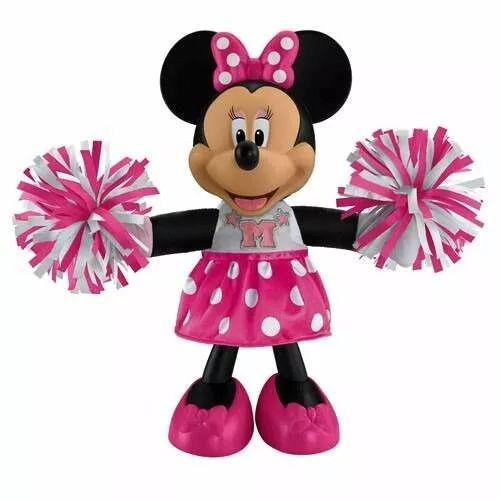 muñeca minie mouse porrista