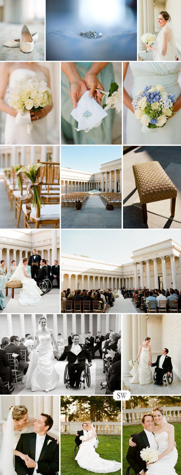 Legion of Honor Wedding Photo by Lisa