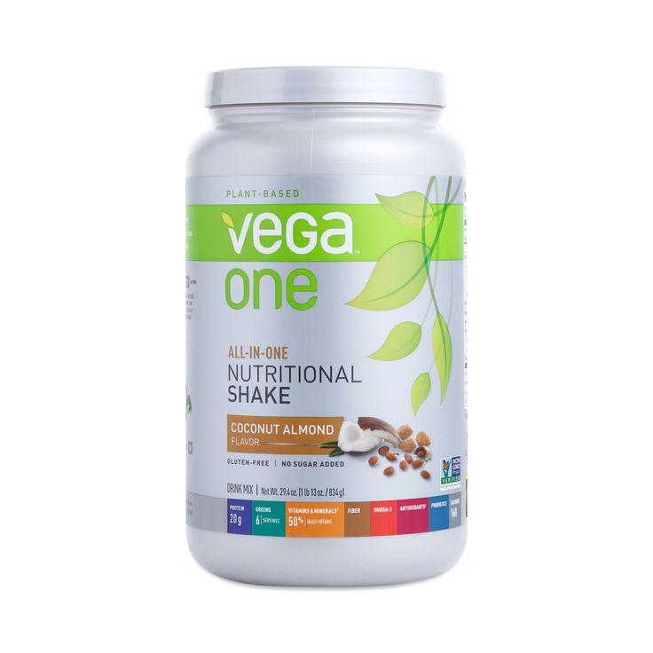 Coconut Almond Nutritional Shake by Vega One - Thrive Market