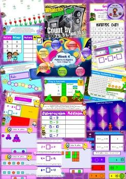 This NO PREP Maths Bundle is programmed for the Australian National Curriculum based on the Maths Plus and Go Maths programs. However, it can be tailored to suit other nations' curriculum outcomes. This is a perfect time saver for you and your classroom.