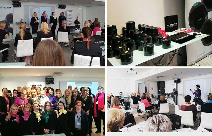 Congratulations to our pHformula team with an inspirational workshop hosted in Helsinki, Finland. With the focus on POINT and the introduction to customised skin resurfacing options, skin specialists left feeling motivated and inspired. #innovation #inspiration #skinresurfacing #treatments #Finland