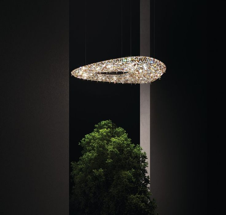 POLARIS Crystal pendant lamp by Manooi