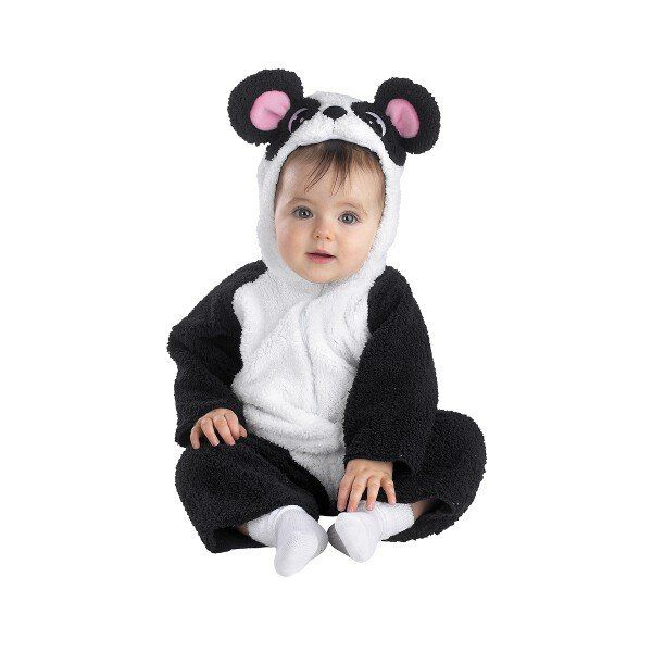 Our baby Panda Bear costume Includes: Plush jumpsuit and attached character…