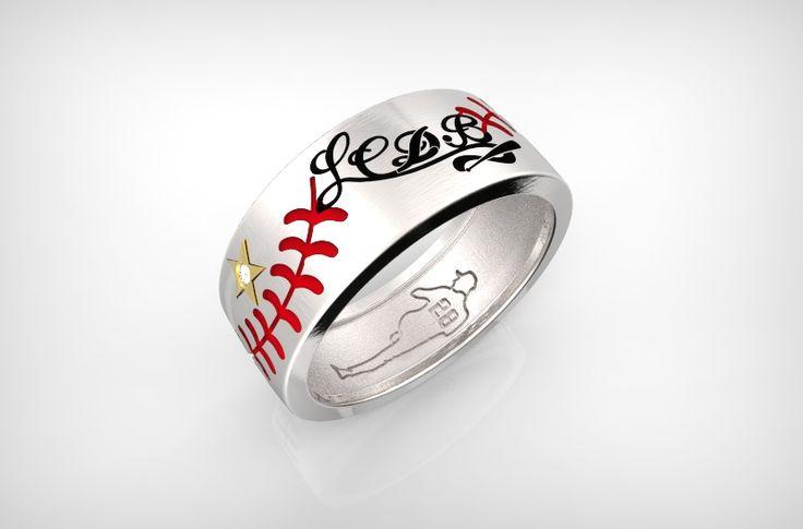 Anello Baseball Doughnut LCDB®#RobyCaba28