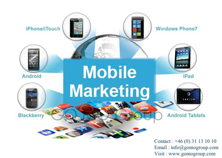 With increased use of smartphones and latest technologies, it has become very much necessary for companies to develop their mobile websites to flourish in the mobile marketing industry. GoMo Group helps you develop mobile website for your company and also does mobile marketing.