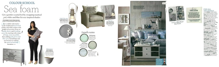 Get a gentle coastal feel! (Ideal Home August 2012)