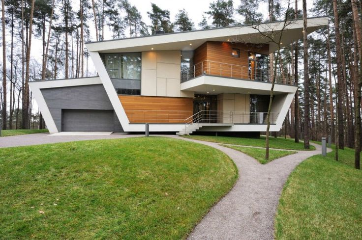 House in Gorki 00 750x499 Contemporary House near Moscow by Atrium Architects