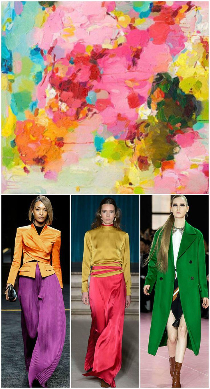 2015-2016 Sonbahar/ Kış Renk Trendleri - Fall/ Winter 2015-2016 Color Trends