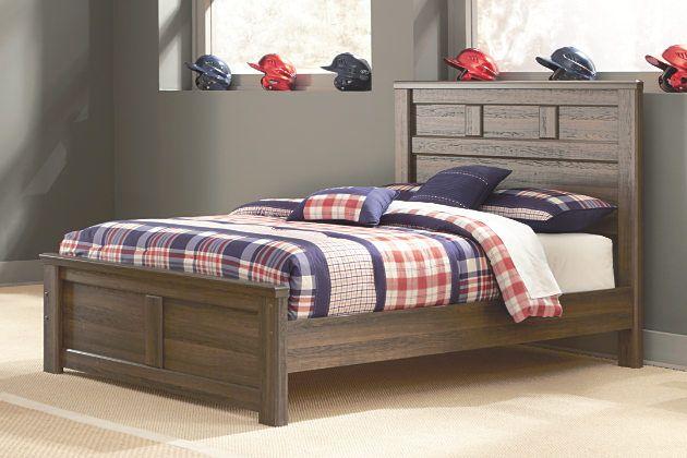 Juararo Full Panel Bed by Ashley HomeStore, Brown