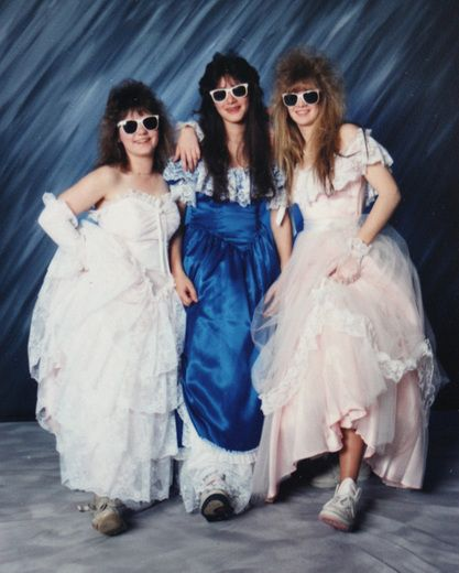 Bad prom photos:  LOL the 80's