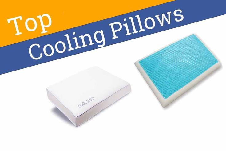 Best Cooling Pillow Reviews of 2018: Buyer's Guide
