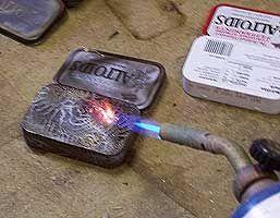 Go Make Something » Prepping Tins For Altering