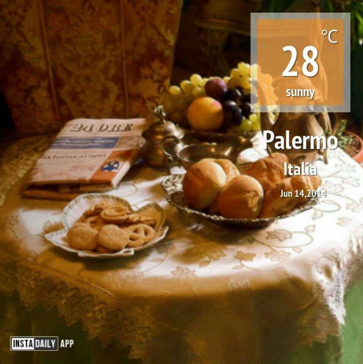 #meteo a #Palermo...