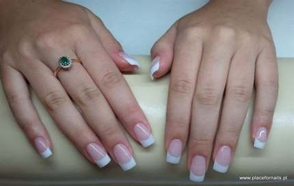 20 trendy nails design neutral colors french tips nails