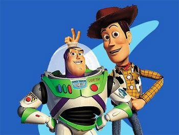 buzz and woody! <3333