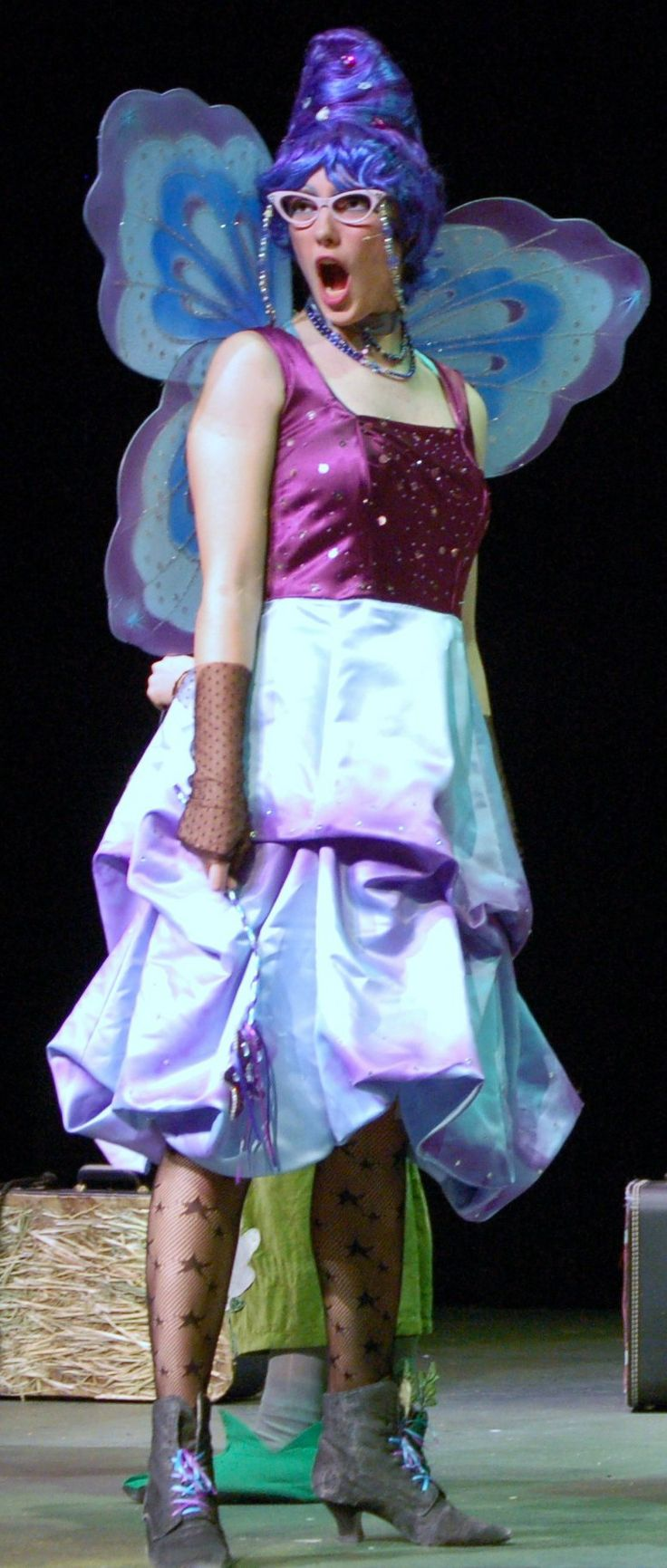 Fairy Godmother. For info to buy dress/wig - dixonh@luhsd.net. NOTE: costume no longer available.