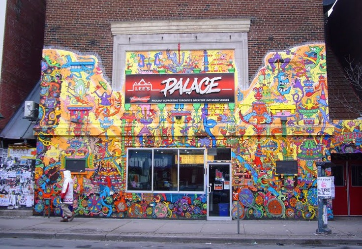 Lee's Palace on Bloor St in the Annex