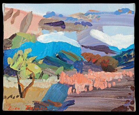 Lise Temple (Australia) - Driving into Afternoon, Flinders Ranges 2015