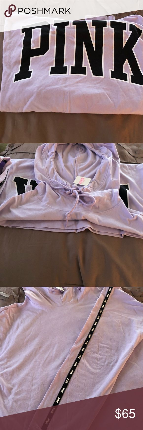 Pink Victoria Secret Campus Hoodie Boutique With Images