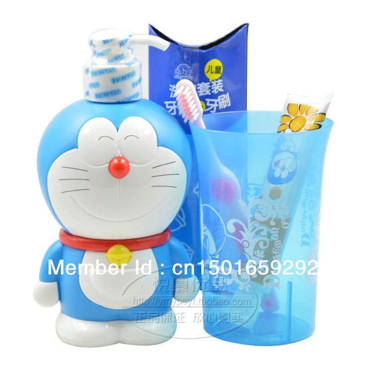 Doraemon-children-Shampoo-body-wash-baby-shampoo-shower-gel-to-toothpaste-toothbrush.jpg (800×800)