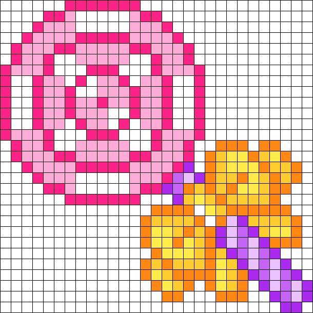 Lollipop bead pattern