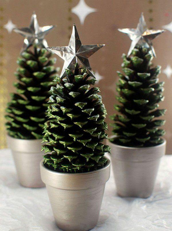 Tischdeko weihnachtsfeier basteln  Die besten 20+ Tischdeko weihnachten Ideen auf Pinterest ...