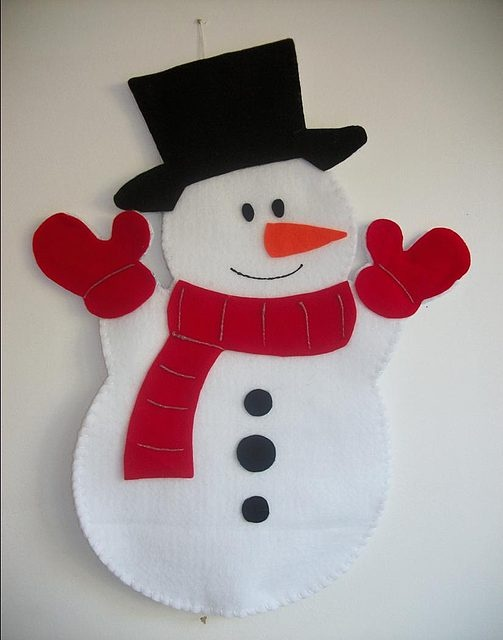 Snowman craft doll patterns and snowman paper piecing patterns