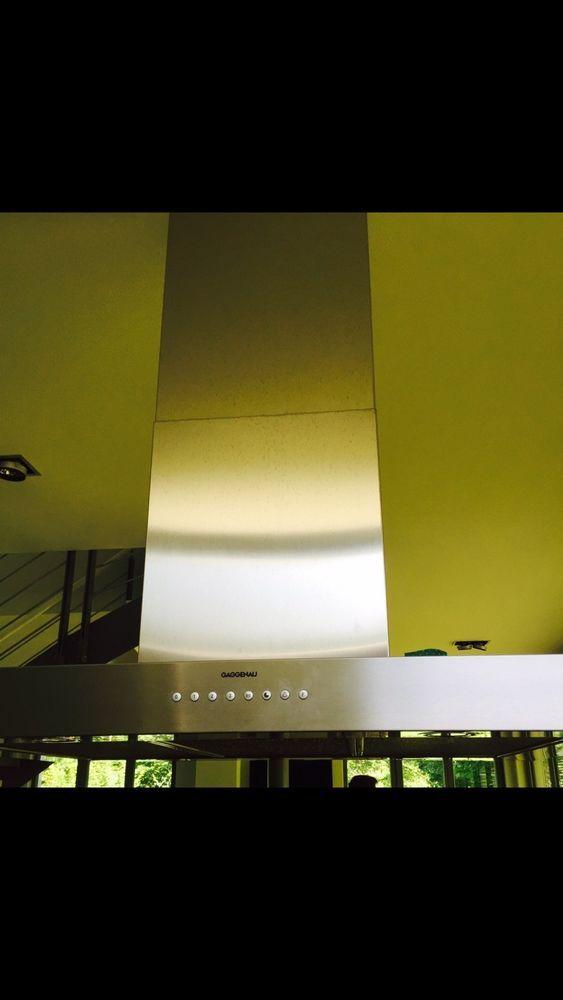GAGGENAU Dunstabzug Inselesse AI 260 Beleuchtung Dunstabzugshaube Edelstahl in Haushaltsgeräte, Backöfen & Herde, Dunstabzugshauben | eBay