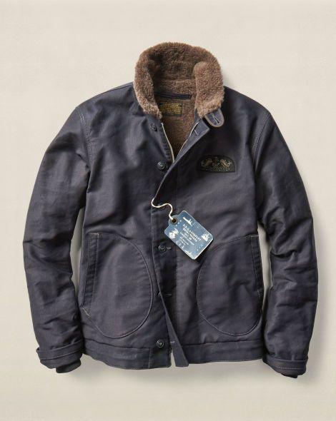 Limited-Edition Deck Jacket - RRL Lightweight & Quilted - RalphLauren.com