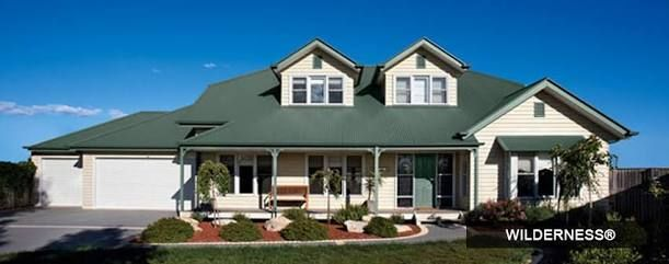 Image result for house with steel colorbond roof australia wilderness