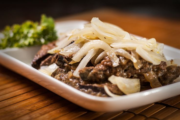 How to Cook Liver and Onions -- via wikiHow.com