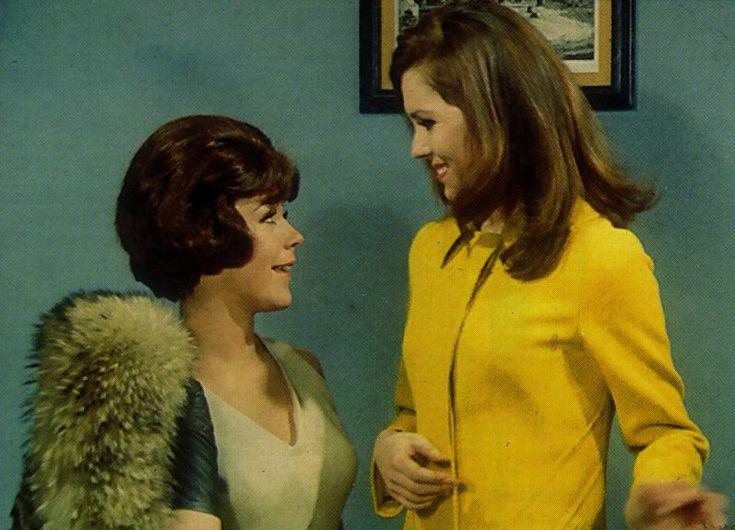 Linda Thorson avengers | Linda Thorson as Tara King/ Agent 69 and Diana Rigg as Emma Peel
