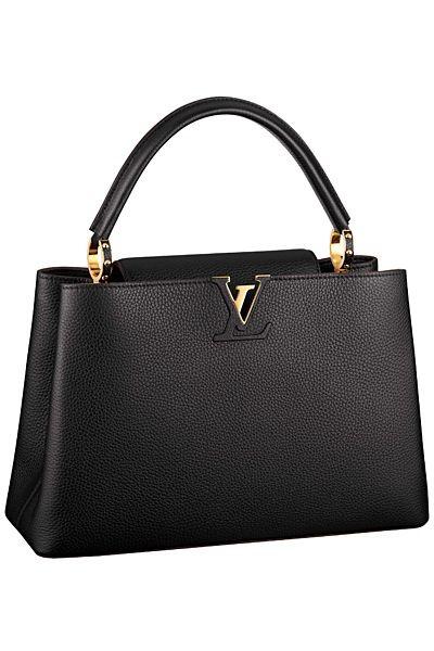Louis Vuitton Capucine bag