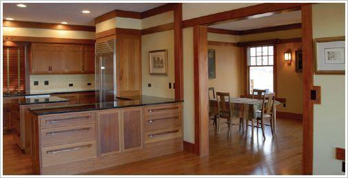 Arts and Crafts Movement Interiors | Arts & Crafts movement woodwork | Interior Architecture/Design/Decor