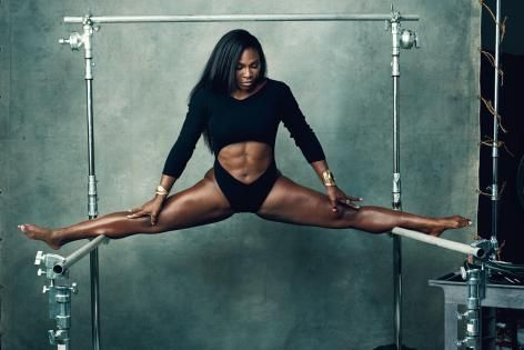 Serena Williams Does Splits in 'New York Magazine' Fashion Issue | Bleacher Report