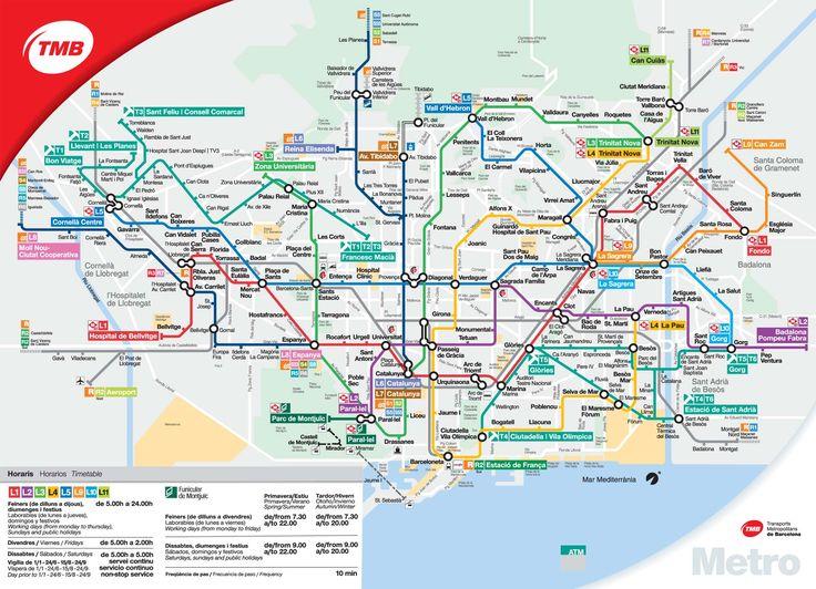 Ms de 25 ideas increbles sobre Mapa barcelona en Pinterest