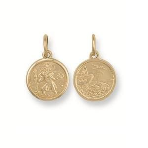 Product Code : SM0000026     Religious Jewellery » St Christophers » St Christopher  3.3 gm St Christopher Pendant  £108.00