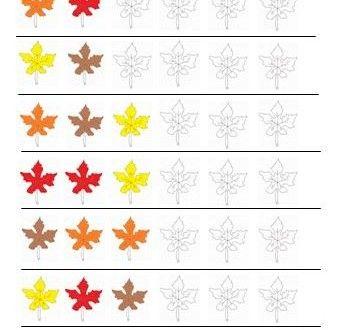 Örüntü İle İlgili Çalışma Sayfaları - Okul Öncesi Etkinlik Kütüphanesi - Madamteacher.com