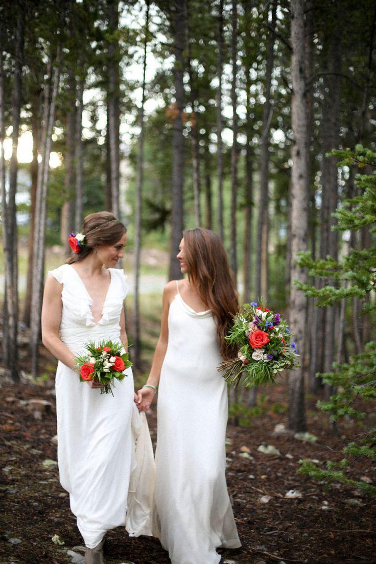 Love is Love / Two Brides / Breckenridge Wedding Planner - Distinctive Mountain Events / Lodge at Breckenridge / Jamie Fischer Photography
